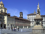Piazza Castello, Turin, Piedmont, Italy, Europe Photographic Print by Vincenzo Lombardo
