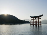 Itsukushima Shrine Torii Gate, UNESCO World Heritage Site, Miyajima Island, Japan Photographic Print by Christian Kober