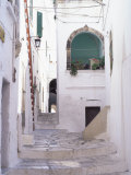 Typical Street, Ostuni, Puglia, Italy, Europe Photographic Print by Vincenzo Lombardo