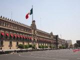 National Palace (Palacio Nacional), Zocalo, Plaza De La Constitucion, Mexico City, Mexico Photographic Print by Wendy Connett