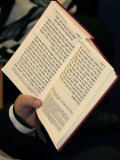 Jew Reading Patah Eliahou Prayer Book, Paris, France, Europe Photographic Print by Godong 