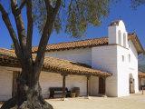 Church, El Presidio De Santa Barbara State Historic Park, Santa Barbara, California, United States  Photographic Print by Richard Cummins