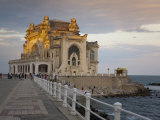 Casino, Waterfront Promenade, Constanta, Romania, Europe Photographic Print by Marco Cristofori
