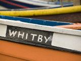 Close Up of a Colourful Fishing Boat in Whitby, Yorkshire, England, United Kingdom, Europe Photographic Print by John Woodworth