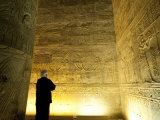 Interior, Temple of Horus, Edfu, Egypt, North Africa, Africa Photographic Print by Michael DeFreitas
