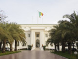 Presidential Palace, Dakar, Senegal, West Africa, Africa Photographic Print by Robert Harding