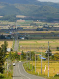 Furano Valley, Central Hokkaido, Japan, Asia Photographic Print by Tony Waltham