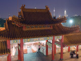 Thean Hou Chinese Temple, Kuala Lumpur, Malaysia, Southeast Asia, Asia Photographic Print by Christian Kober