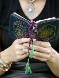 Woman Reading the Koran Photographic Print by Godong 