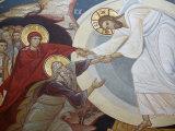 Resurrection. Jesus, Adam and Eve, Vienna, Austria, Europe Photographic Print by  Godong