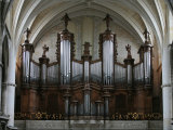 Organ in St. Andrew's Cathedral, Bordeaux, Gironde, Aquitaine, France, Europe Photographic Print by  Godong