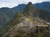 Inca Ruins, Machu Picchu, UNESCO World Heritage Site, Peru, South America Photographic Print by Michael DeFreitas