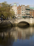 O'Connell Bridge on the Liffey River, Dublin, Republic of Ireland, Europe Photographic Print by Oliviero Olivieri