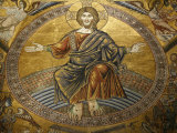 Mosaics Depicting the Final Judgement, Baptistery, Duomo Florence, Tuscany, Italy, Europe Photographic Print by  Godong