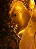 Reclining Buddha in Wat Po Temple, Bangkok, Thailand, Southeast Asia Photographic Print by  Godong
