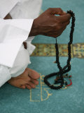 Muslim with Prayer Beads, Lyon, Rhone Alpes, France, Europe Photographic Print by  Godong