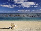 Paradise Cove Beach, Aitutaki, Cook Islands, South Pacific Ocean, Pacific Photographic Print by Jochen Schlenker