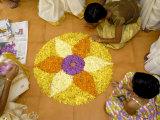 Onam Celebrations, Kerala, India Photographic Print by Balan Madhavan