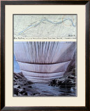 Arkansas River from Underneath Art by Christo 