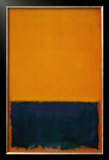 Yellow, Blue, Orange, 1955 Prints by Mark Rothko