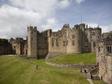 Keep from the Curtain Wall, Alnwick Castle, Northumberland, England, United Kingdom, Europe Photographic Print by Nick Servian