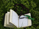 Koran and Prayer Beads, Chatillon-Sur-Chalaronne, Ain, France, Europe Photographic Print by  Godong
