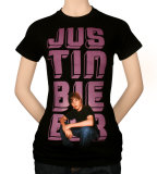 Juniors: Justin Bieber - Glow Photo Shirt