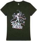 Women's: Justin Bieber - 3D Camisetas