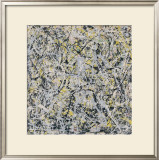 No. 4, 1949 Prints by Jackson Pollock