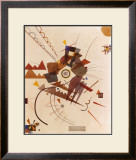 All Around Print by Wassily Kandinsky