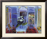 Indoors with the Window Open Posters by Raoul Dufy