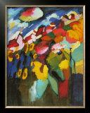 Murnau-Garden II, 1910 Print by Wassily Kandinsky