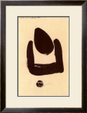 37 Pollination Symbol I (Cista), c.1937 Posters by Julius Bissier