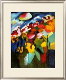 Murnau-Garden II, 1910 Prints by Wassily Kandinsky