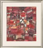 The Rose Garden Posters by Paul Klee