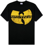 Wu-Tang Clan - Distressed Logo T-Shirts