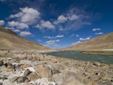 Pamir River, Tajikistan, Central Asia Photographic Print by Michael Runkel