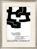 Cinq Livres Graves, 1974 Prints by Eduardo Chillida