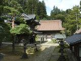 Zen Buddhist Temple Zenpo-Ji, Tsuruoka, Yamagata-Ken, Northwest Honshu, Japan, Asia Photographic Print by Tony Waltham