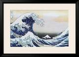 The Great Wave at Kanagawa , c.1829 Photo by Katsushika Hokusai