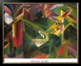 Forest Prints by Franz Marc