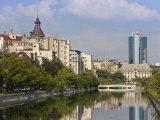 Dambovita River, Bucharest, Romania, Europe Photographic Print by Marco Cristofori