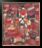 The Rose Garden Prints by Paul Klee