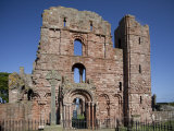 Ruins of Lindisfarne Priory, Lindisfarne (Holy Island), Northumberland, England Photographic Print by Nick Servian