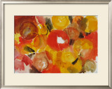 Yellow, Vermilion Posters by Ernst  Wilhelm Nay