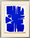 Aru Dunkel-Blau, c.1955 Prints by Willi Baumeister