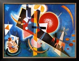 Im Blau, c.1925 Prints by Wassily Kandinsky