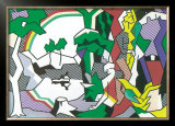 Landscape with Figures, 1980 Prints by Roy Lichtenstein