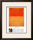 Twentieth Century Art Masterpieces -Mark Rothko - Orange and Tan Art by Mark Rothko