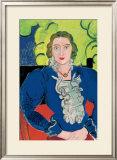 La Blouse Bleue, c.1936 Posters by Henri Matisse